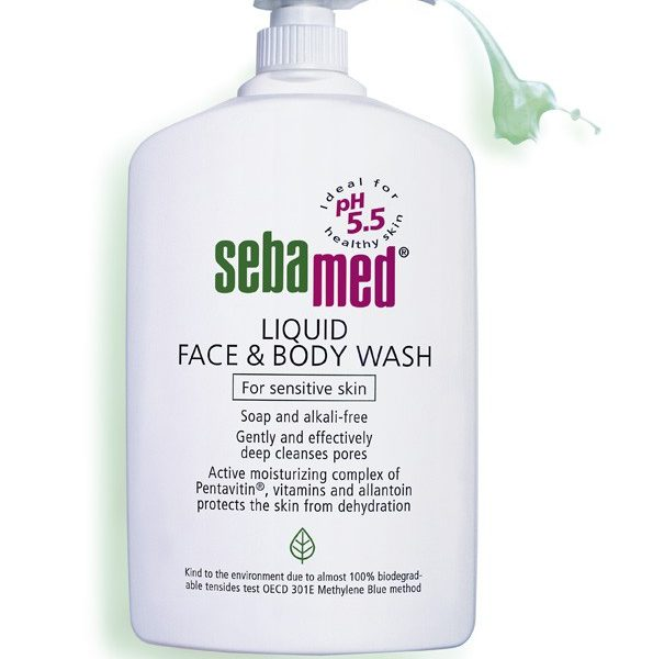SebaMed Face & Body Wash 1000ml x6