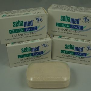 SebaMed Clear Face Cleansing Bar 100g X4
