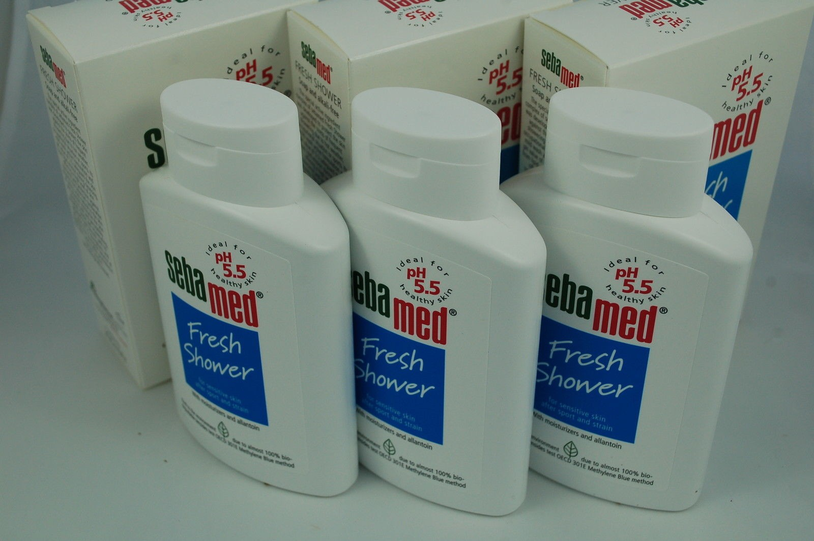 Sebamedshop Fresh Bath Shower Gel By Sebamed 200ml X 3 Face Body Wash 200 Ml
